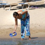 Roberta Capua sexy in vacanza